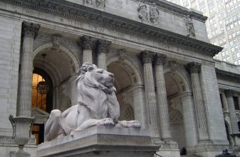 The New York Public Library. If it's good enough for that ghost librarian in Ghostbusters and the people to seek refuge in the Day After Tomorrow, it's good enough for you!
