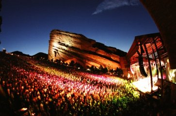 """Red Rocks Amphitheatre is a geological phenomenon – the only naturally-occurring, acoustically perfect amphitheatre in the world. From Sting and The Beatles, to opera stars and U2, every artist aspires to play on this magical, spiritual and emotional stage."" redrocksonline.com"