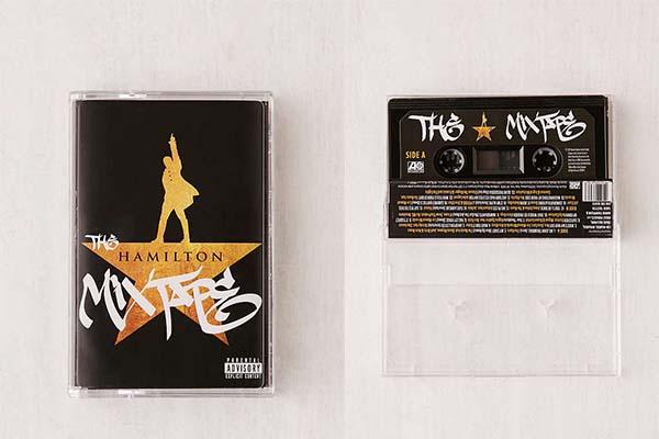 Cassette Tape Hamilton Musical